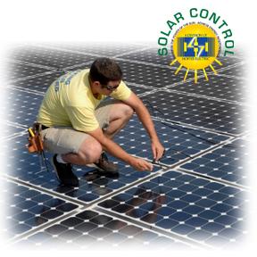 hoffer electric solar installation