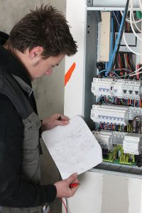 A Commercial Electrician in Westwood